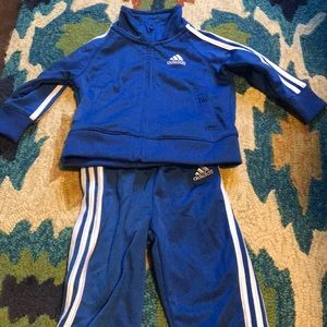 Adidas tracksuit. 6 months. Like new.